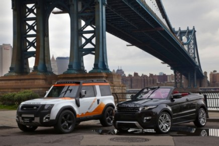 Land Rover debutes Sport Supercharged and LR4 HSE Luxury limited editions