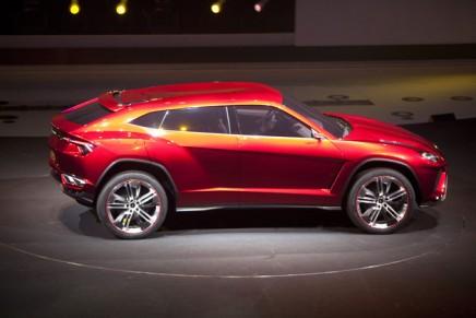 Super-sizing the supercars: Lamborghini debuts Urus SUV