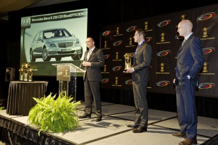 2012 World Green Car: Mercedes-Benz S 250 CDI BlueEFFICIENCY declared the most fuel-efficient luxury sedan