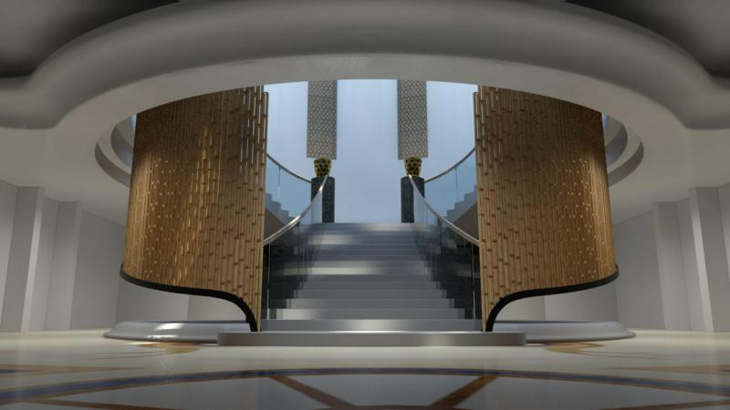 Eco Neoromance Architects Danny De Munter And Wim Gyselinck Design Palace In Saudi Arabia