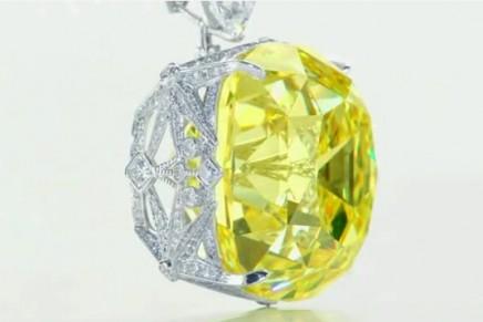 Iconic yellow Tiffany Diamond marks its 175th Anniversary