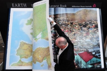World's largest and most detailed atlas on sale for $100,000