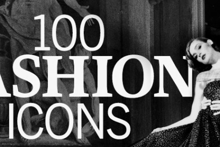 100 most influential fashion icons. Time's glittering list.