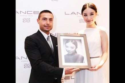 Studio Harcourt celebrates Lancel's largest concept store in Asia