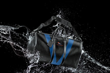 Louis Vuitton Cup 30 years anniversary celebrated with waterproof Keepall 55 bandouliere