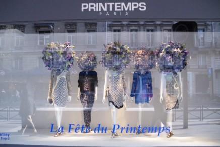 Stella McCartney pop-up store at Le Printemps