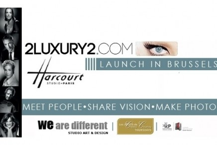 2LUXURY2 launch in Brussels