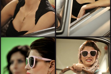 Matt Silk sunglasses: An italian style comedy featuring Bianca Balti