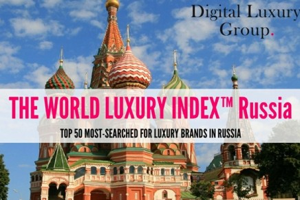 BMW, Audi, Volvo, Mercedes-Benz and Lexus top the first edition of the World Luxury Index Russia