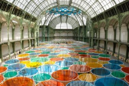 Monumenta 2012: French conceptual artist Daniel Buren at the Grand Palais