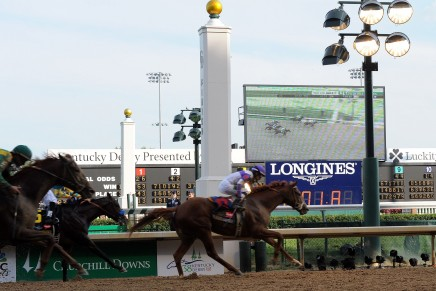 Longines's second year as Official Timekeeper of the Kentucky Derby