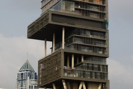 Antilia, world's most expensive house