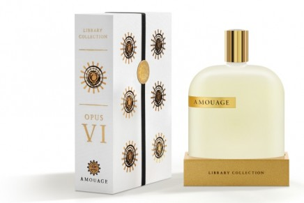 Amouage Library Collection Opus VI: haute parfumerie homage to the art of living