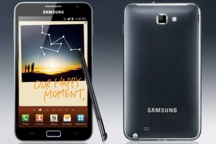 Samsung shows the confidence of the world's leading phone maker