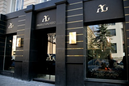 Angelo Galasso opens first store in Moscow