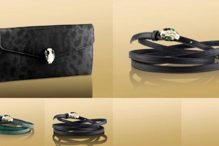 Bulgari Serpenti snake on your bag