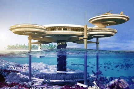 The Water Discus Hotel: the undersea hotel in Dubai