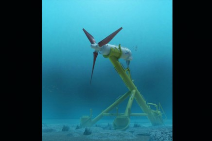 First underwater energy park tested in Scotland