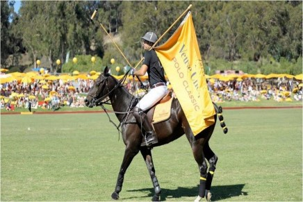 The fifth annual Veuve Clicquot Polo Classic debuts with limited-edition parasol