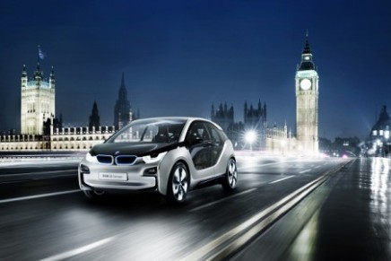 BMW premieres in London: the world's first BMW i Store and the updated BMW i3 Concept