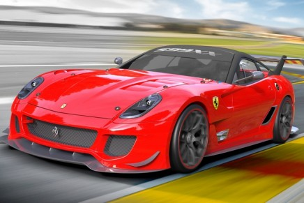 Ferrari charity auction after earthquake