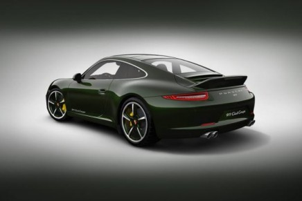 Porsche 911 Club Coupe Exclusive Edition limited to 13 units