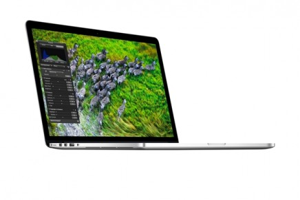Retina MacBook Pro -The world's highest resolution notebook display