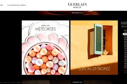 Guerlain launches its new digital platform dedicated to makeup