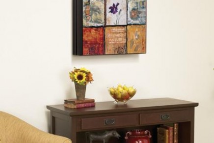 Collecting, lighting and hanging wall art in the home