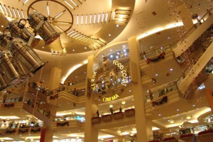 Luxury shoppers visit the mall 25% more times than the average shopper