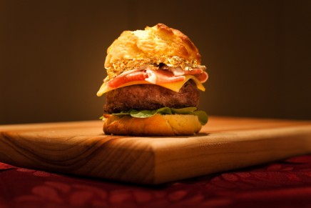 World's most expensive burger to be sold for charity