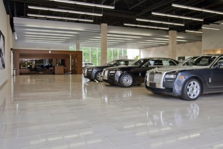 Rolls-Royce opens largest showroom in North America