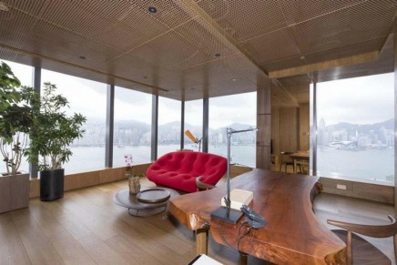 Vivienne Tam's luxury suite at Icon Hong Kong