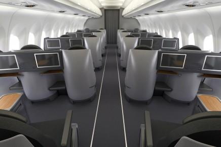 First U.S. airline to put lie-flat seats on transcontinental flights