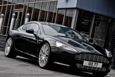 This beast is amazing: Aston Martin Rapide by Kahn Design