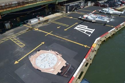 Audemars Piguet Heliport in Manhattan