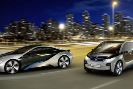 BMW's environmentally friendly vehicles sold online