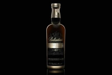 Ultra-rare Ballantine's 40yo limited edition scotch