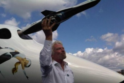 Branson family to make first voyage into space