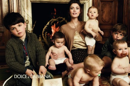 Bianca and the kids: Dolce&Gabbana Bambino debut campaign