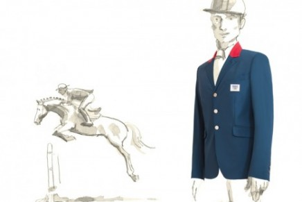 Hermes dresses the French Olympics Equestrian team