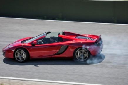 McLaren 2013 12C Spider revealed