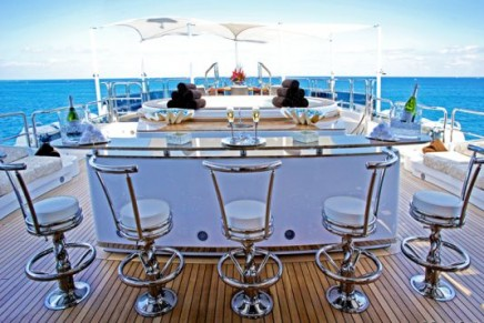 """Benetti debuts its longest yacht """"Diamonds Are Forever"""" at the Cannes Boat Show"""