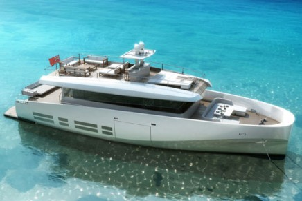 Lowest consumption in biggest volumes: Kanga, the first WallyAce 26m yacht