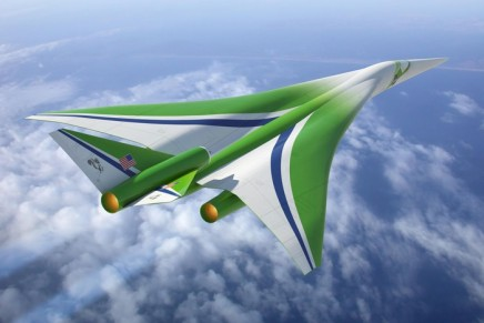 Son of Concorde supersonic jet: four times faster than speediest aircraft