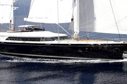 Perini delivers the second vessel in the new 50m aluminium series