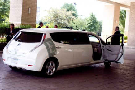 Green luxury: The world's first all-electric limo guest shuttle