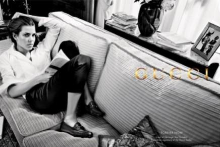 Charlotte Casiraghi's second Gucci campaign