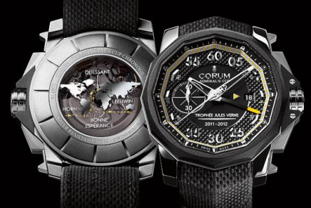 Trophee Jules Verne Corum watch's mission accomplished