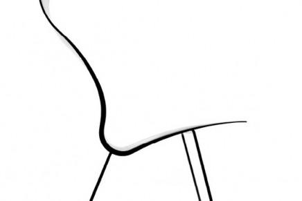 Carbon fiber Ergon Nomos Chair by Synperia